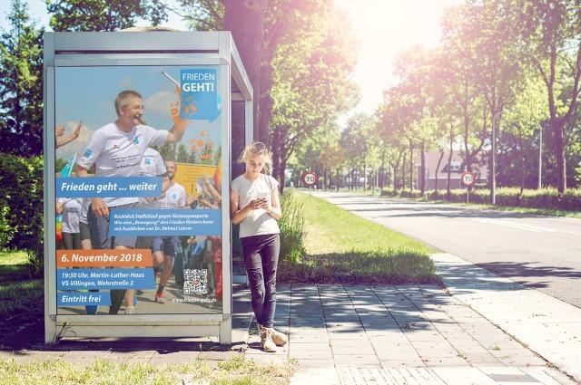 Plakat - Frieden geht weiter 2018