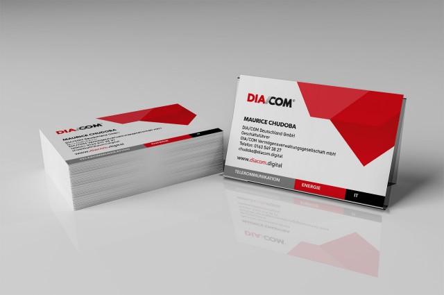 Visitenkarten DIA/COM